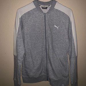 Grey puma sweater